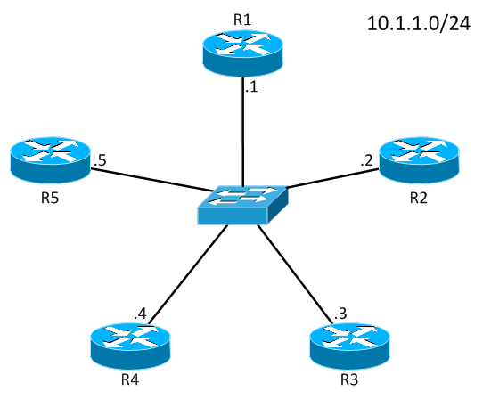 vyatta ospf designated router concepts